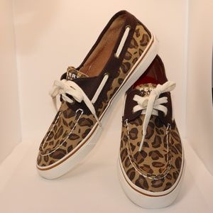 SPERRY  Top Sider Animal Print Shoes
